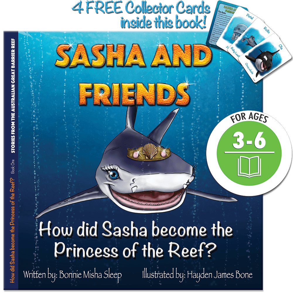 Sasha and Friends: How did Sasha become the princess of the reef?