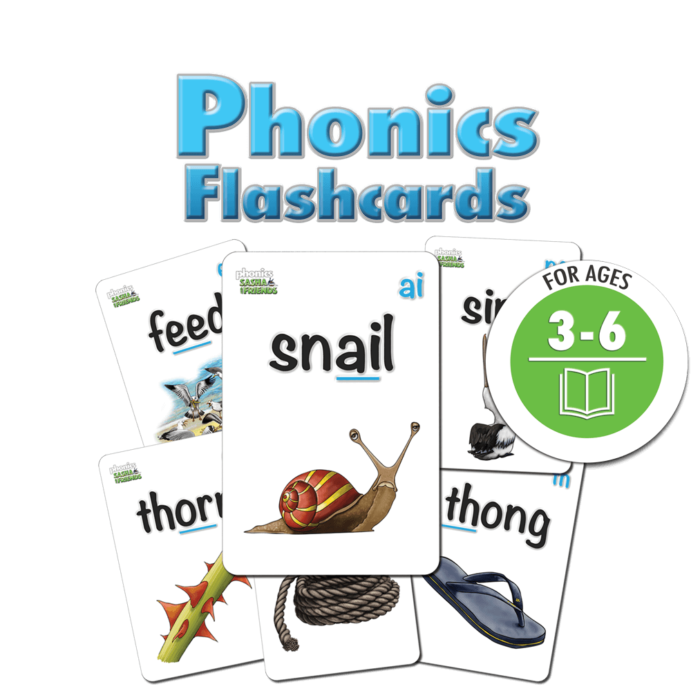 Sasha and Friends Phonics Cards