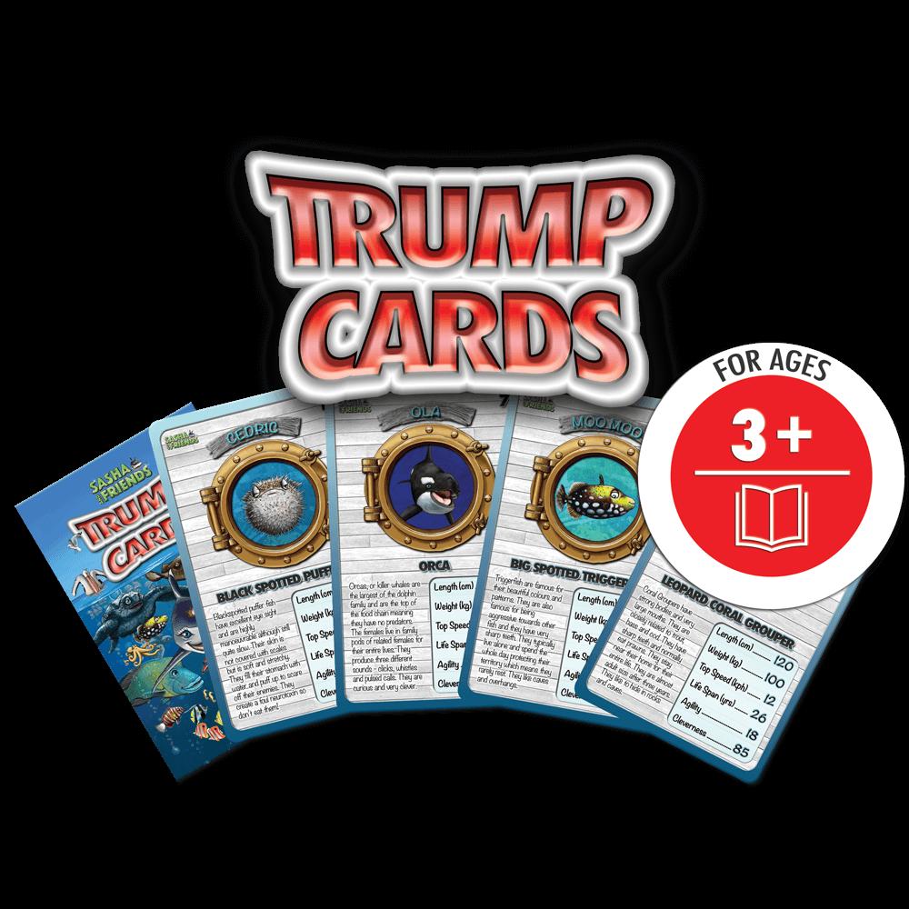 Sasha Creature Trump Cards