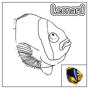 Colouring in thumbnail - Leonard